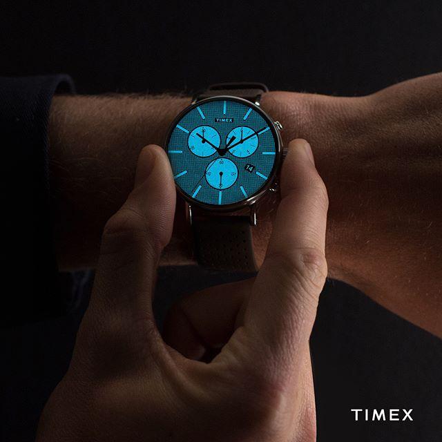 Nowoczesne męskie zegarki Timex Supernova